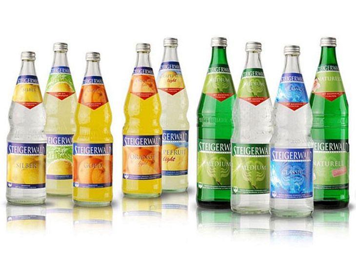 Mineralwasser und Limonade der Steigerwald Mineralbrunnen GmbH werden zurückgerufen.