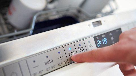 Beim Geschirrspülen Strom sparen