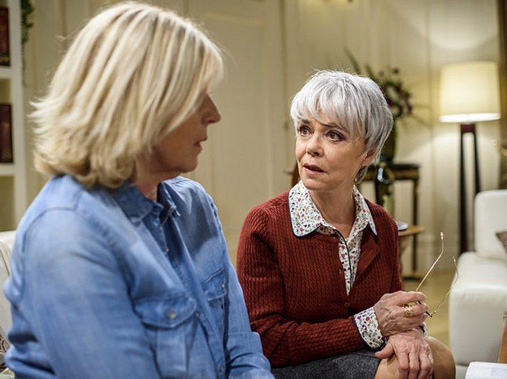 Sturm der Liebe: Charlotte bekommt Besuch von ihrem ehemaligen Kindermädchen.