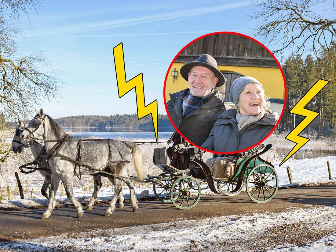 Drama bei Sturm der Liebe: Alfons und Hildegard schweben in Gefahr.