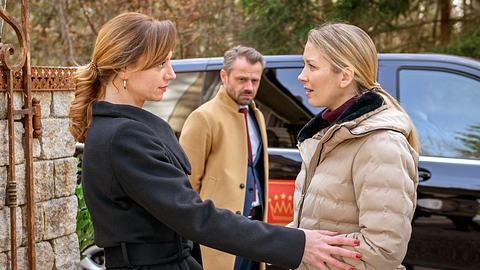 Ariane, Erik und Selina bei Sturm der Liebe. - Foto: ARD/Christof Arnold