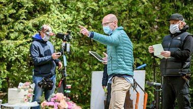 Dreharbeiten zu Sturm der Liebe. - Foto: ARD/Christof Arnold