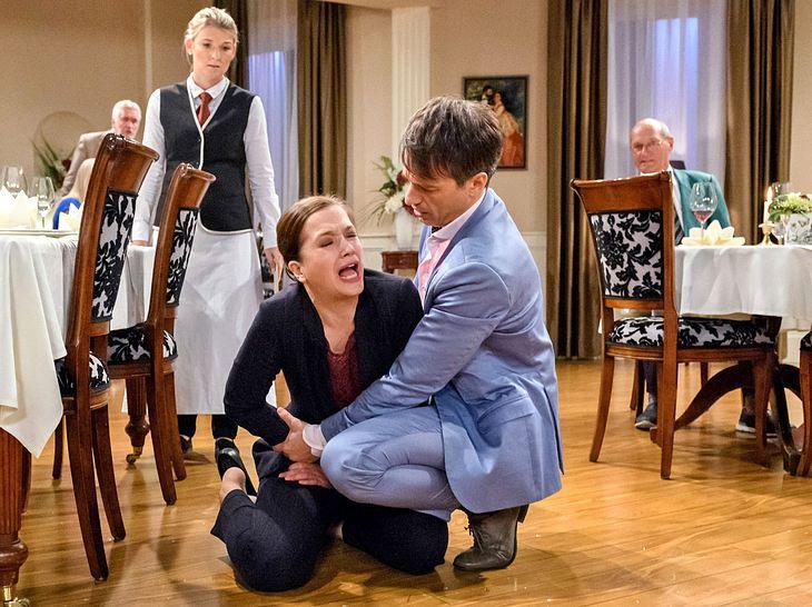 Eva sorgt bei Sturm der Liebe für ein großes Baby-Drama.