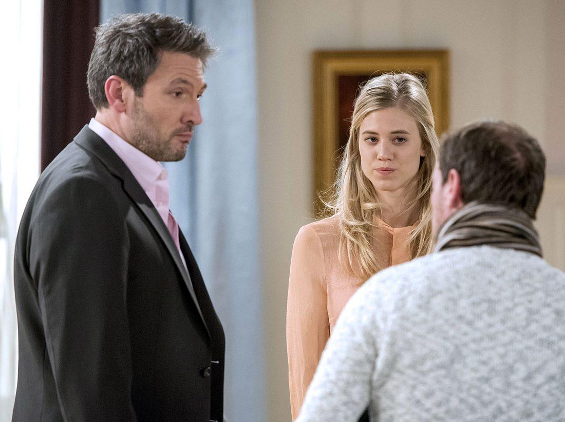 Sturm der Liebe: Was verheimlicht Christoph vor Alicia?