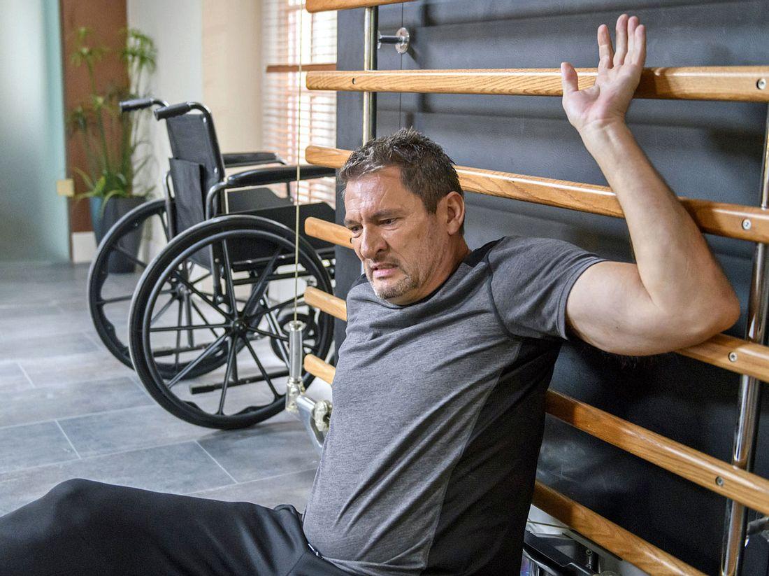 Bei Sturm der Liebe hat Christoph mit seiner Gesundheit zu kämpfen.