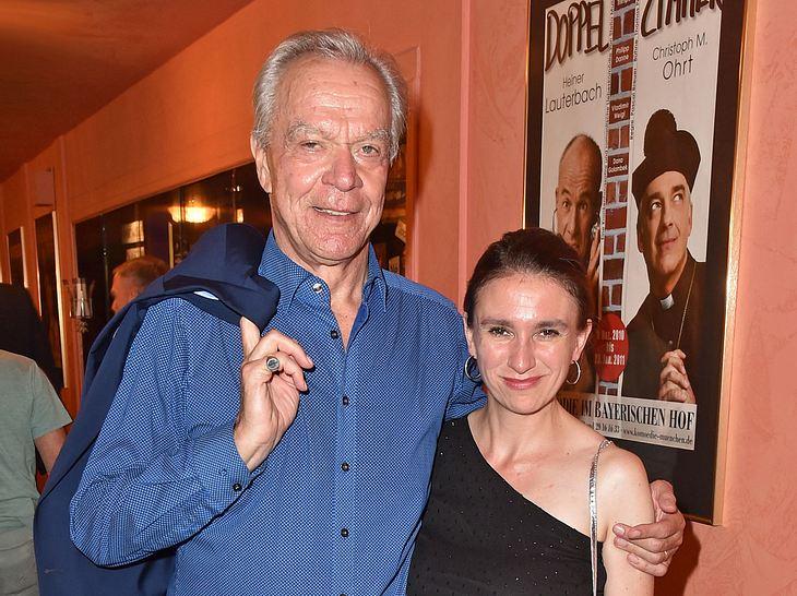 Sturm-der-Liebe-Star Dirk Galuba mit Ex-Freundin Maria Klose.