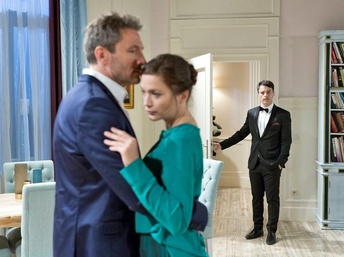Bei Sturm der Liebe sprühen zwischen Christoph und Eva die Funken.