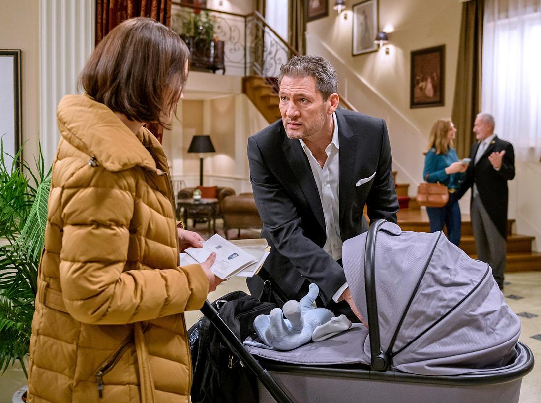 Also doch! Christoph ist der Vater von Evas Baby Emilio bei 'Sturm der Liebe'.