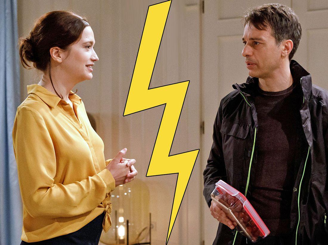 Ob sich die Sturm-der-Liebe-Lieblinge Eva und Robert tatsächlich trennen?