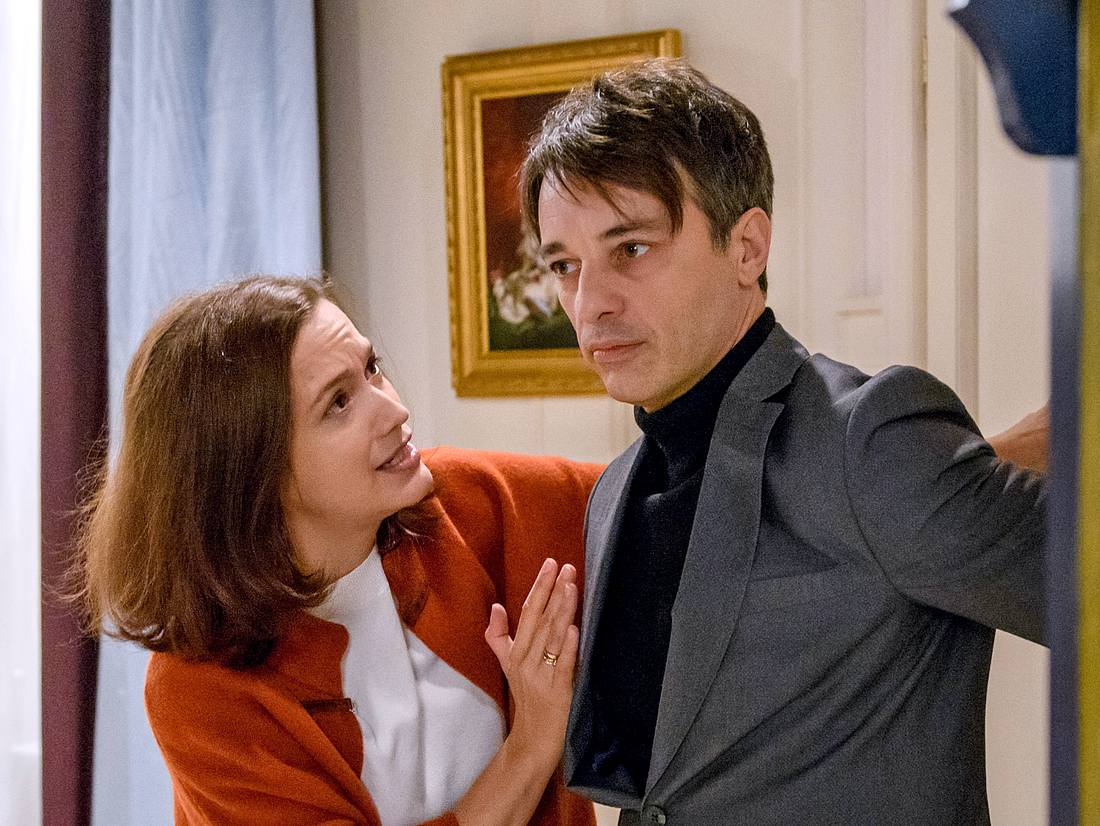 Bei Sturm der Liebe haben Eva und Robert eine große Krise.