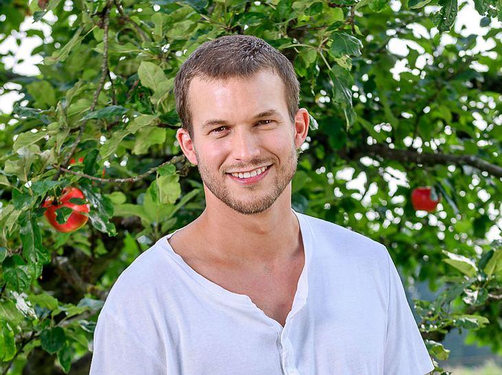 """Florian Frowein spielt die neue männliche Hauptrolle, Tim Degen, bei """"Sturm der Liebe""""."""