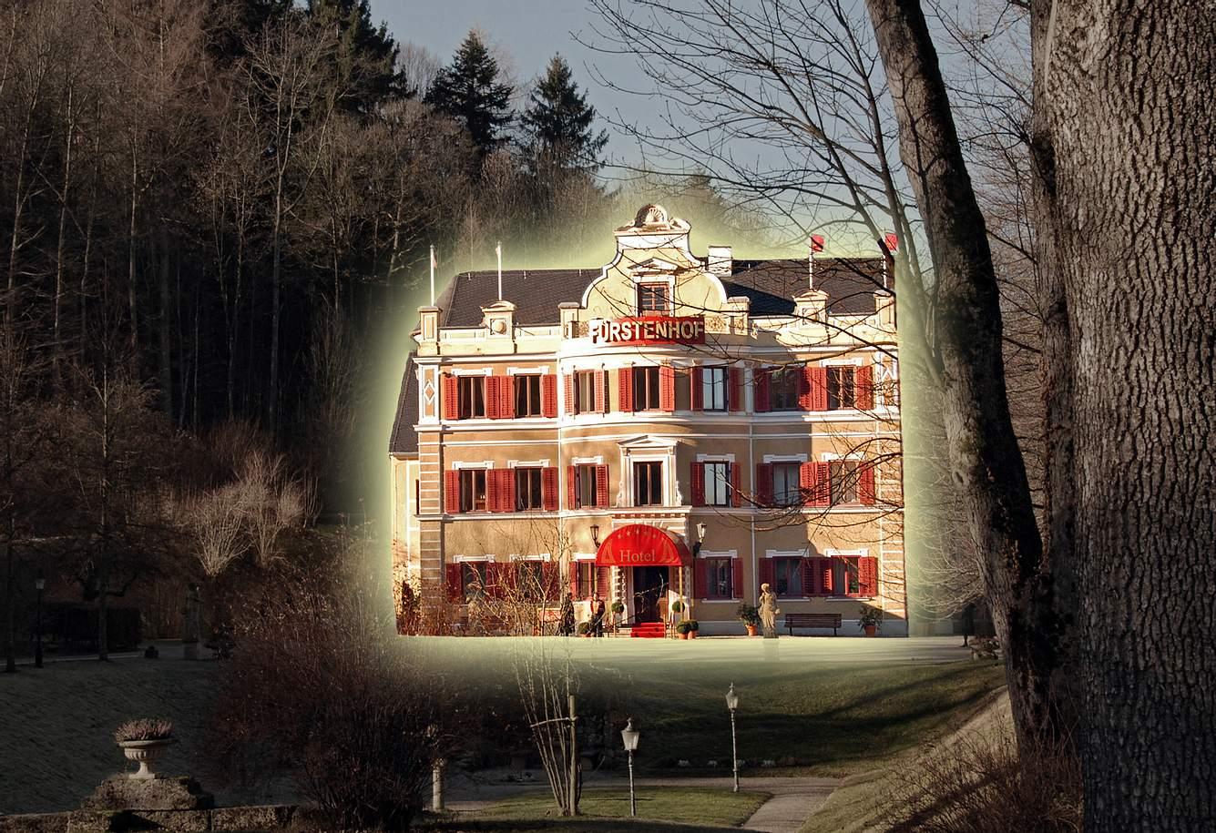 Der Fürstenhof von 'Sturm der Liebe'.