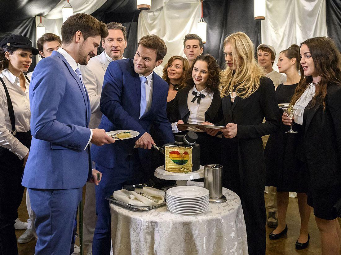 Nach der wunderschönen Hochzeit von Boris und Tobias warten schon die nächsten tollen Neuigkeiten.