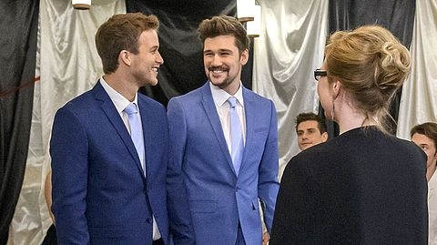 Was passiert bei der Sturm-der-Liebe-Hochzeit von Boris und Tobias? - Foto: ARD/Christof Arnold