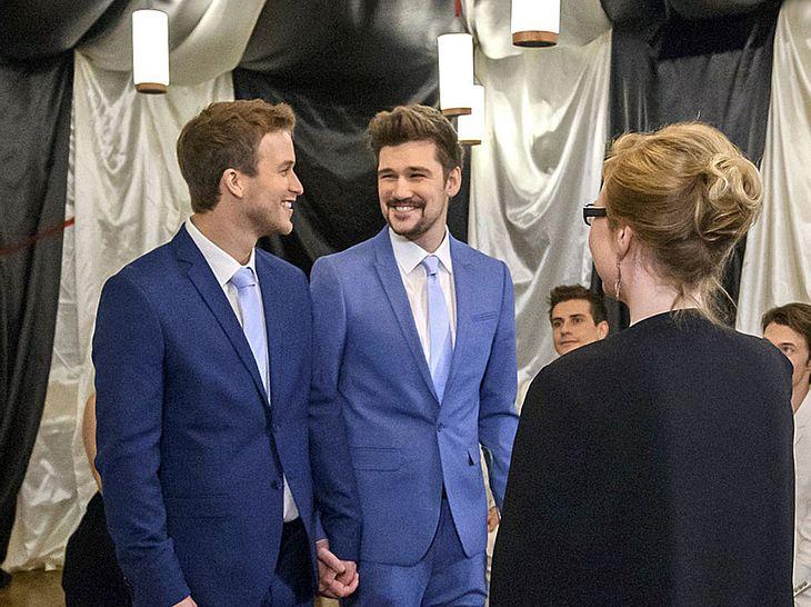Was passiert bei der 'Sturm der Liebe'-Hochzeit von Boris und Tobias?