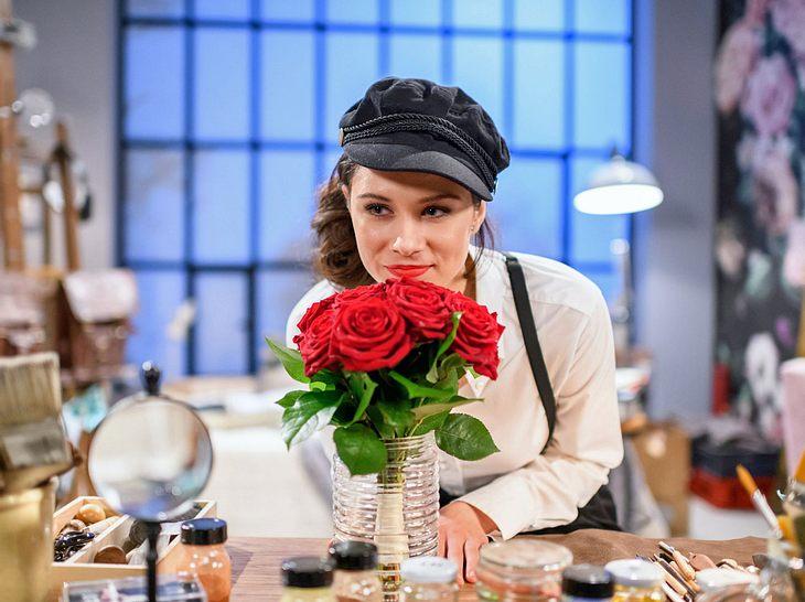 Sturm der Liebe: Für Denise hat es bei der Hochzeit rote Rosen geregnet ...