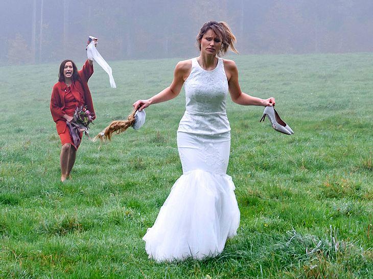 Für Sturm-der-Liebe-Jessica wird der Tag ihrer Hochzeit sehr turbulent.