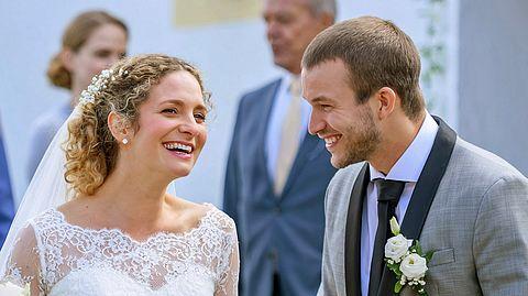 Bei Sturm der Liebe können Tim und Franzi endlich heiraten. - Foto: ARD/Christof Arnold