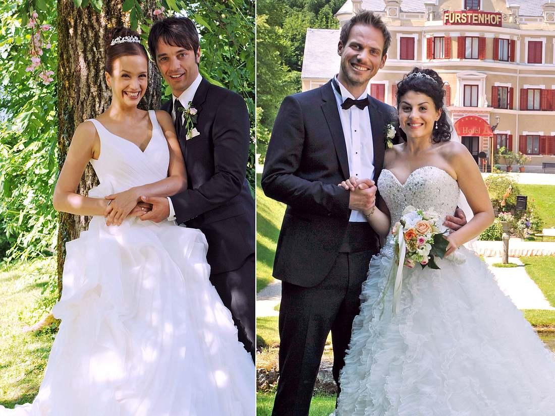 Bei Sturm der Liebe wurden unter anderem die Hochzeiten von Eva und Robert sowie von Leonard und Pauline gefeiert.