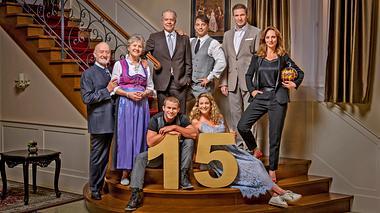 Sturm der Liebe feiert ein bombastisches Jubiläum zum 15. Geburtstag der Serie. - Foto: ARD/Christof Arnold