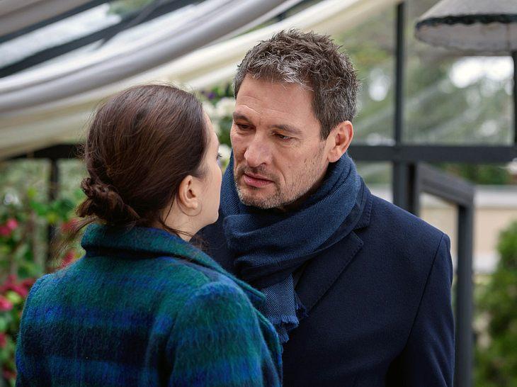 Der Kuss zwischen Eva (Uta Kargel) und Christoph (Dieter Bach) sorgte für Diskussionen.