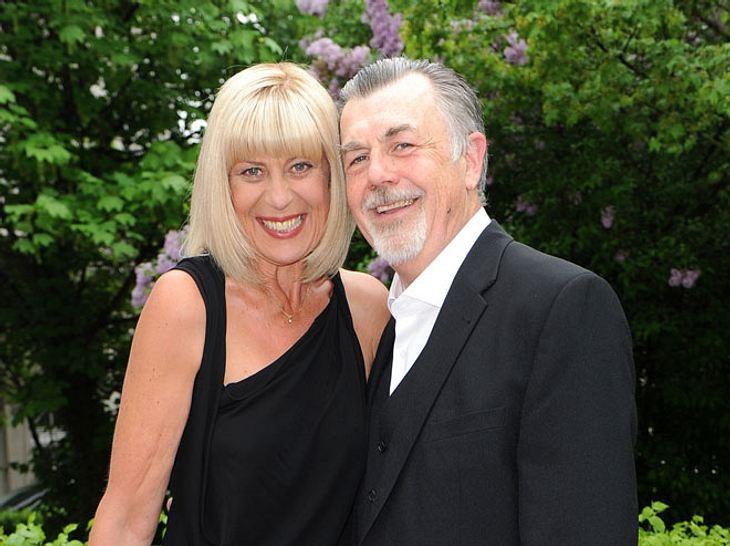 Mona Seefried mit ihrem Mann Peter E. Funck.