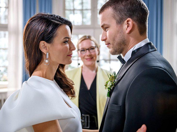 Bei Sturm der Liebe heiraten als nächstes Nadja und Tim.