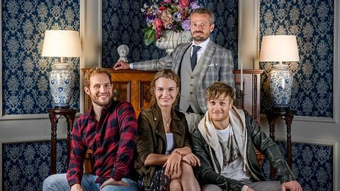 Vier Neuzugänge wirbeln den Sturm der Liebe-Fürstenhof auf. - Foto: ARD/Christof Arnold