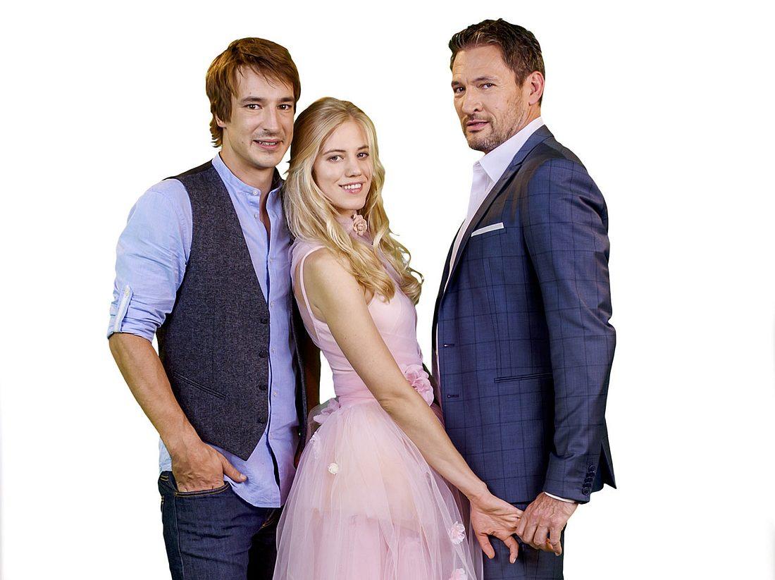 Auch in Staffel 14 von 'Sturm der Liebe' gibt es ein Liebesdreieck: Zwischen Viktor, Alicia und Christoph.