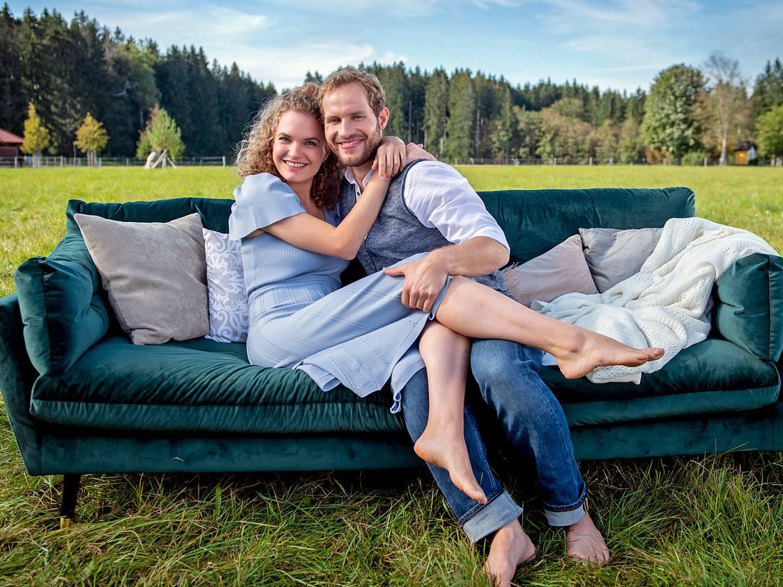 Maja und Florian sind bei 'Sturm der Liebe' das zentrale Paar von Staffel 17.