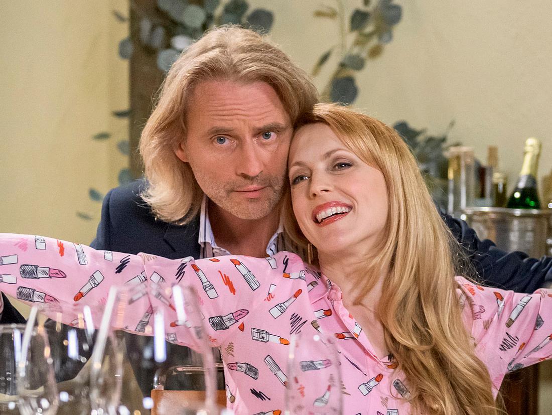 Michael und Rosalie bei 'Sturm der Liebe'.