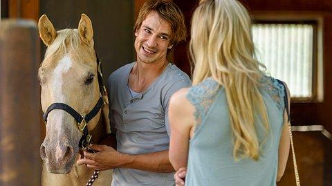 Sturm der Liebe: Sebastian und Alicia sind zwei der Hauptrollen der 14. Staffel - Foto: ARD/Christof Arnold