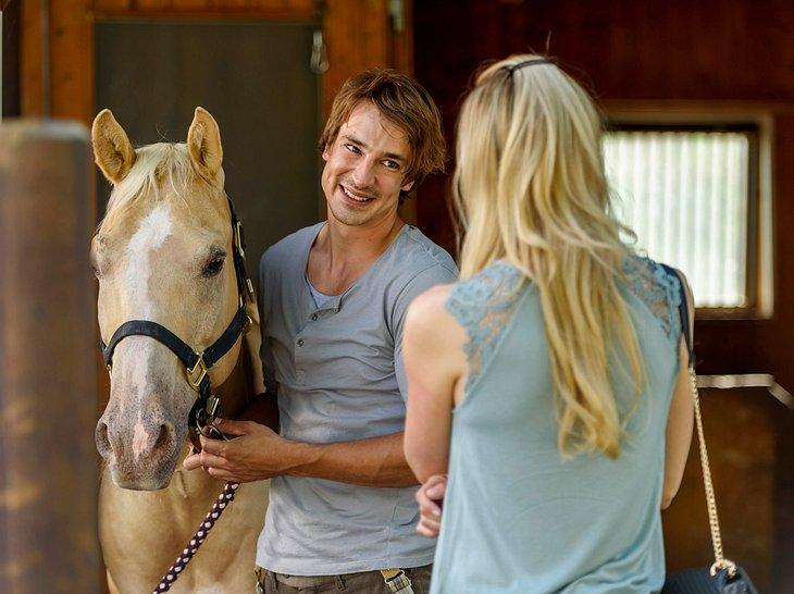 Sturm der Liebe: Sebastian und Alicia sind zwei der Hauptrollen der 14. Staffel