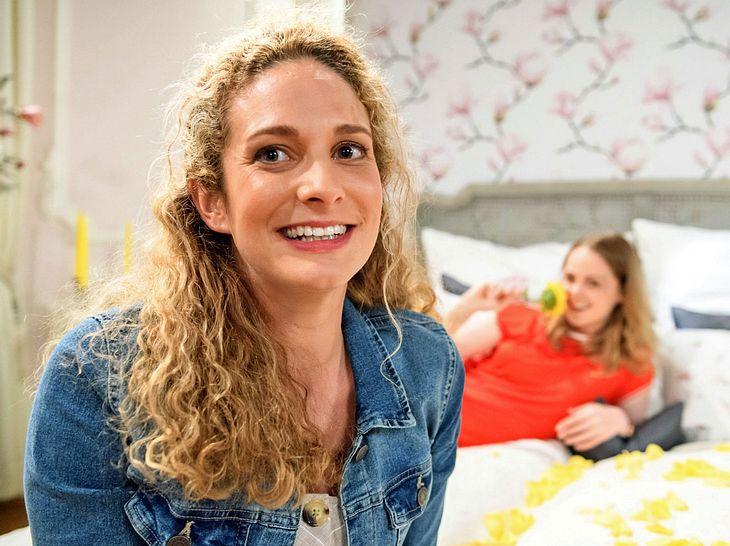 Léa Wegmann schlüpft bei Sturm der Liebe in die Rolle der Franziska Krummbiegl.
