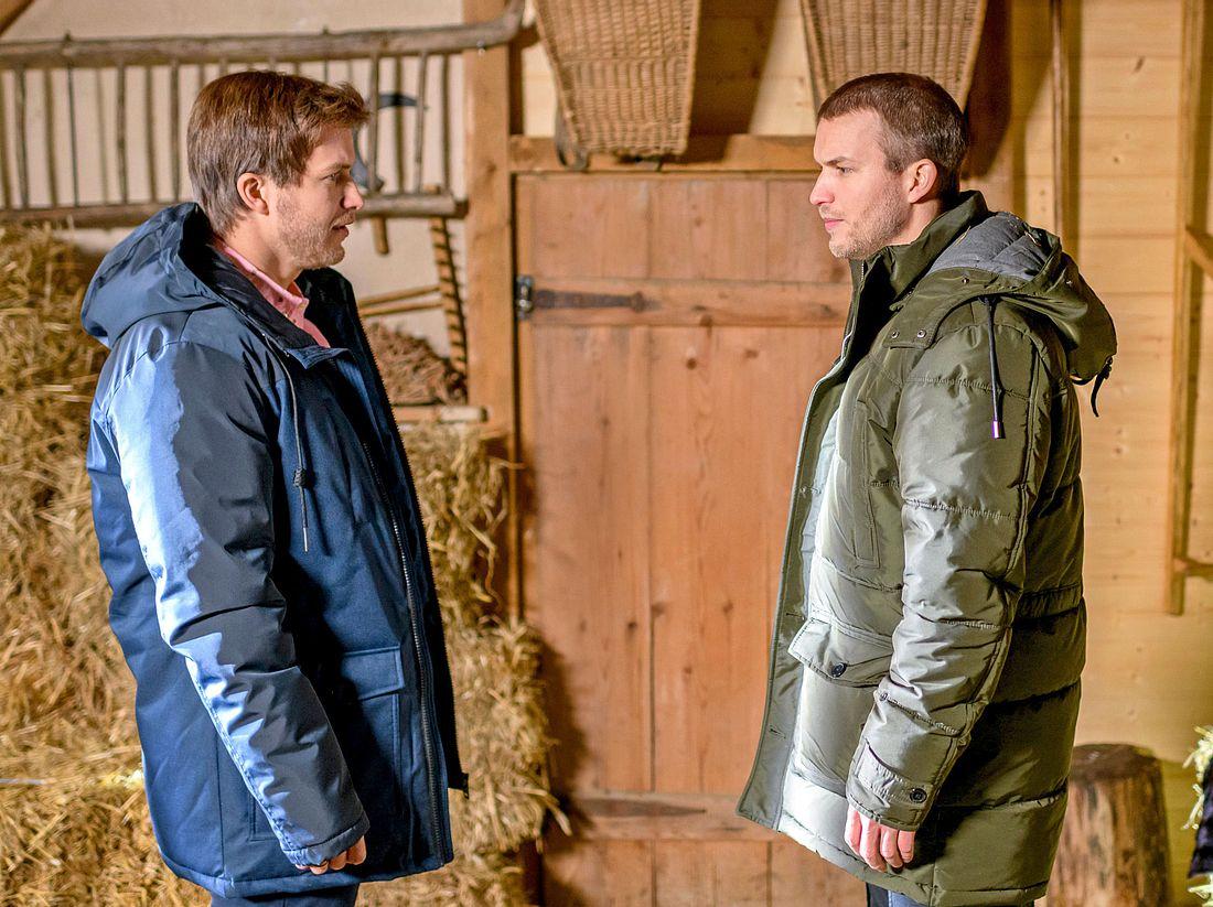 Boris und Tim tauschen bei 'Sturm der Liebe' die Rollen.