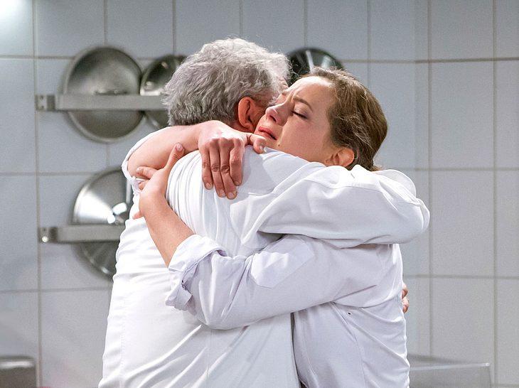 Christin Balogh (Tina) ist bei Sturm der Liebe ausgestiegen.