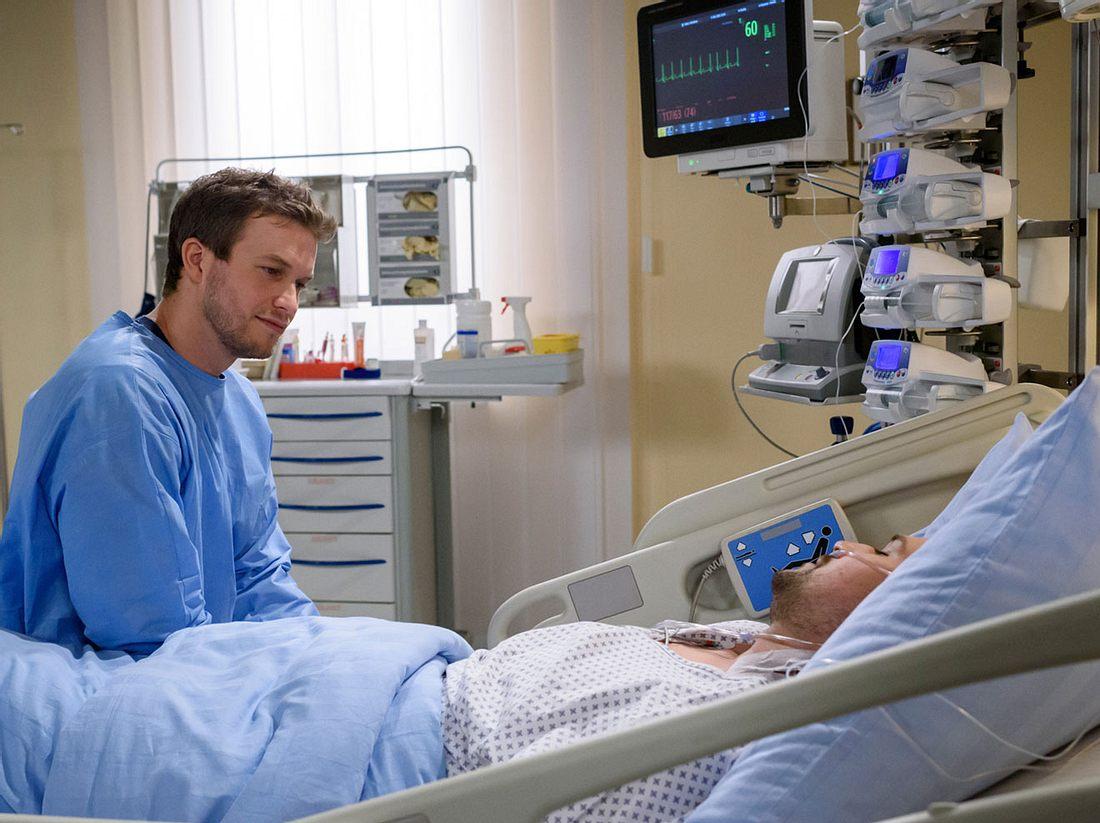 Sturm der Liebe Boris und Tobias im Krankenhaus