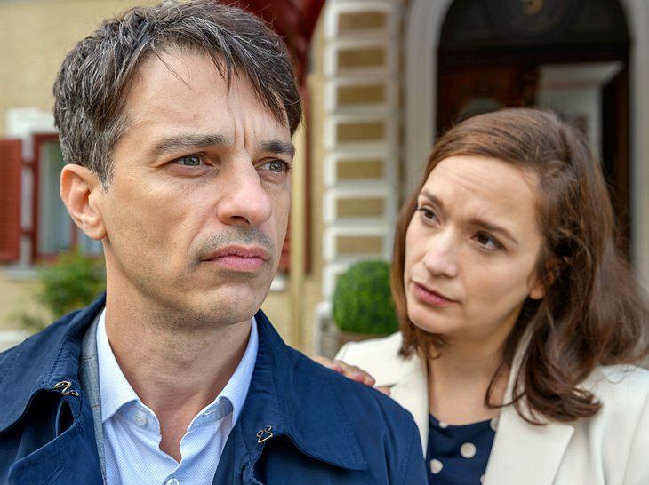 Sturm der Liebe: Robert und Eva haben es nach wie vor nicht leicht.
