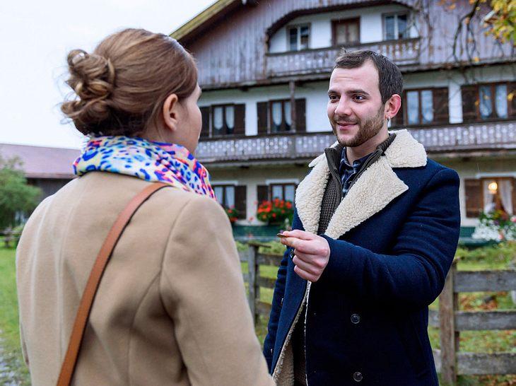Sturm der Liebe: Neuer Mann verdreht Melli den Kopf