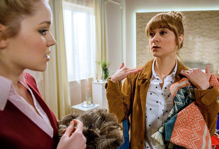 Sturm der Liebe: Ella und Rebecca wollen eine Hochzeitsagentur gründen.