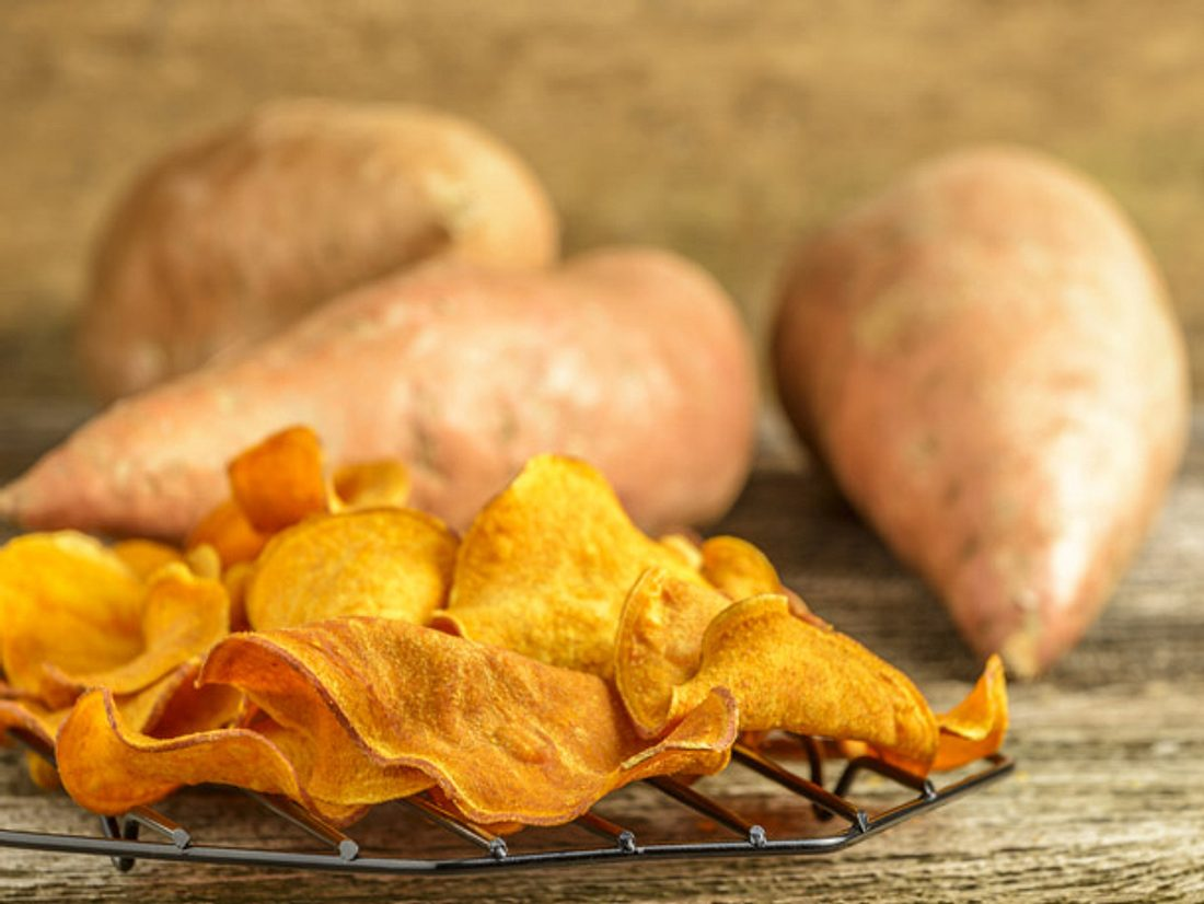 Süßkartoffel-Chips selber machen