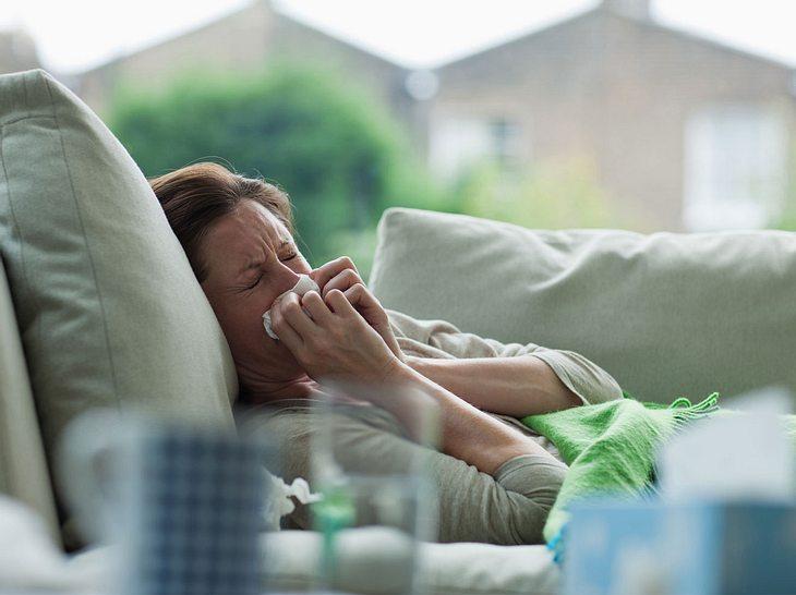Superinfektion nach Erkältung
