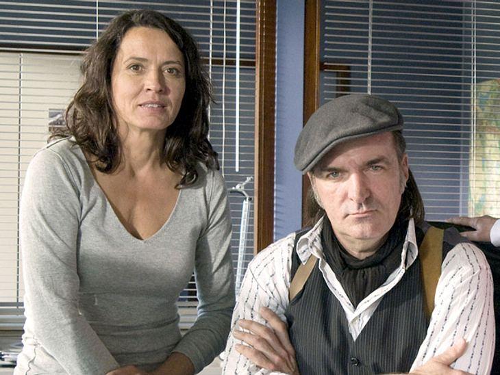 Andreas Hoppe und Ulrike Folkerts im Tatort.