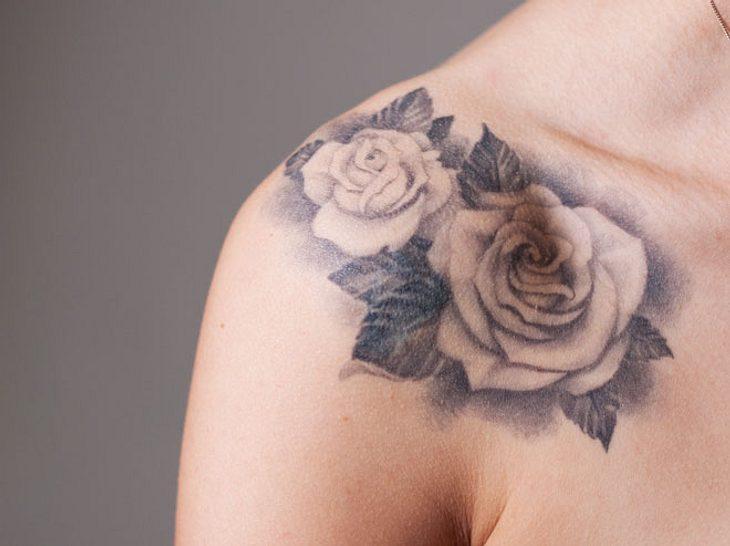 Tattoos, die Narben verdecken