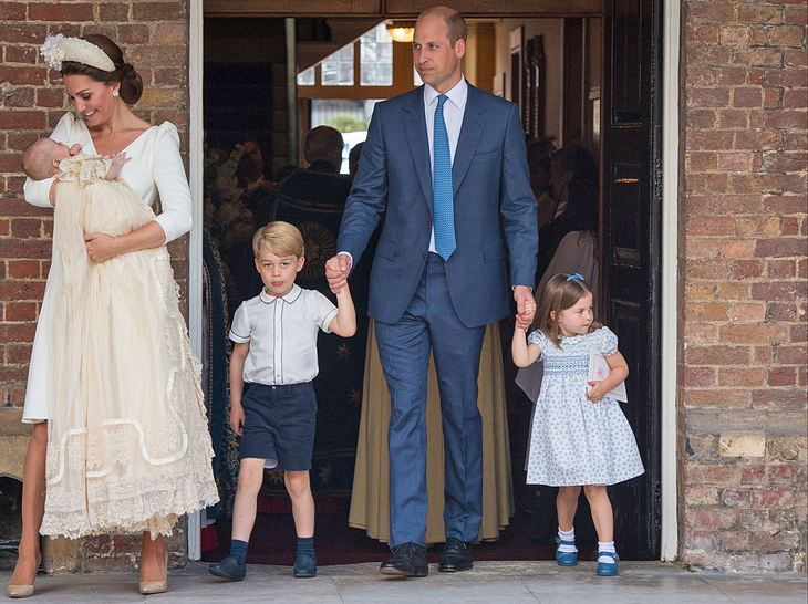 Kate Middleton Prinz William So War Die Taufe Von Sohn Louis