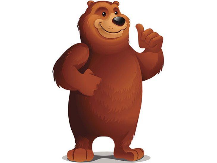 Was ein Bär als Symbol im Selbsttest bedeutet.