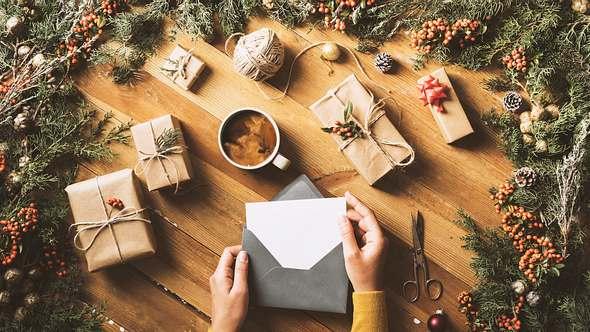 Tolle Texte für Weihnachtskarten.