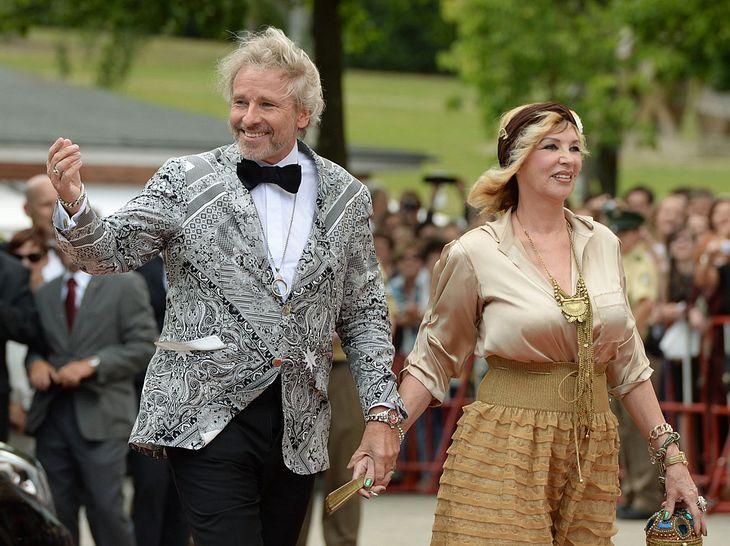 Thea und Thomas Gottschalk haben sich getrennt.