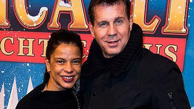 Thomas Heinze und seine Freundin Jackie Brown. - Foto: Matthias Nareyek/Getty Images