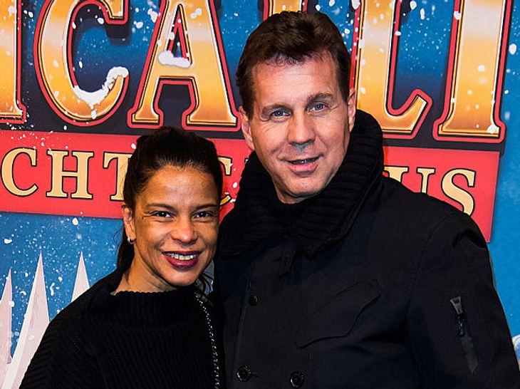 Thomas Heinze und seine Freundin Jackie Brown.